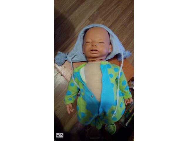 продам  кукла   -мимическии пупс  55см  бу в Сумах