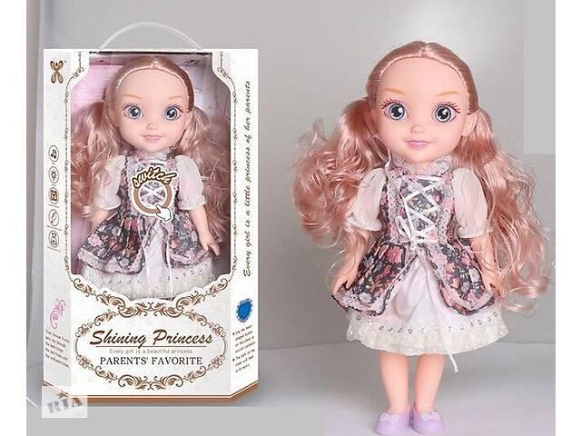 купить бу Кукла со звуком и светом с большими глазами, длинными волосами, в комплекте расческа  YL 005 A-1 в Одессе