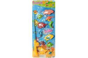 """Магнитный детский игровой набор """"Рыбалка"""" Metr+, 13 предметов"""