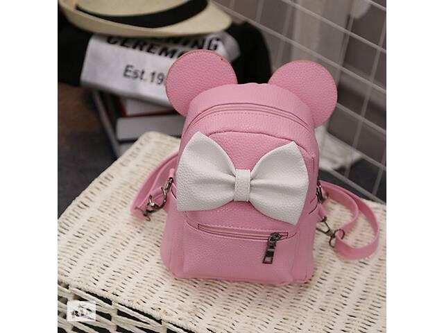 бу Маленький женский рюкзак с ушами Микки Розовый в Днепре (Днепропетровск)