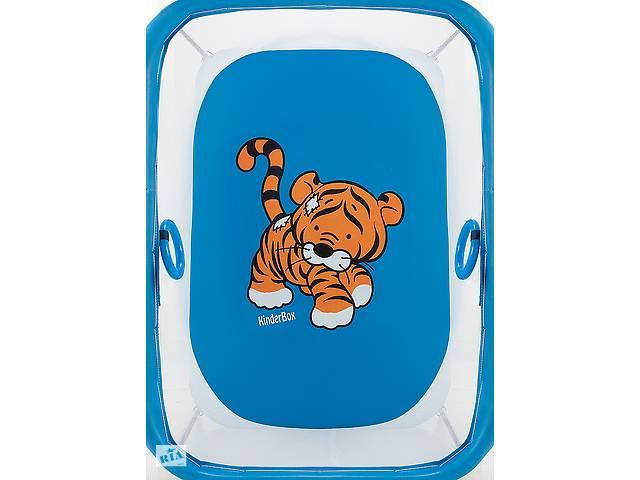 бу Манеж Qvatro LUX-02 мелкая сетка  синий (tiger) в Одессе