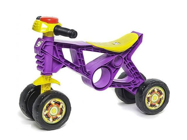 продам Мотоцикл Беговел Орион на 4 колесах для толкания ногами, фиолетовый (188F) для детей от 2 лет бу в Киеве
