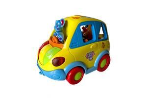 Музыкальная развивающая игрушка HOLA Автошка Разноцветный