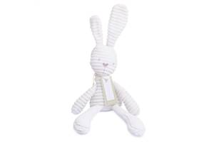 Мягкая игрушка рифленый белый Заяц BBSKY 52 см декоративная игрушка подушка (2035468-FL)