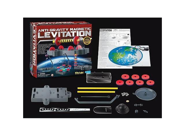 купить бу Набор детский для исследований 4M Магнитная левитация, 7 моделей для сборки в Киеве