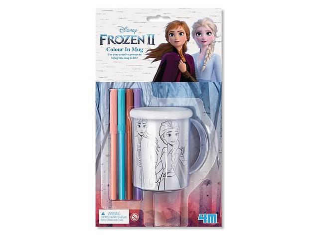 купить бу Набор для творчества 4M Disney Frozen 2 Холодное сердце 2 Раскрась чашку (00-06200) в Киеве