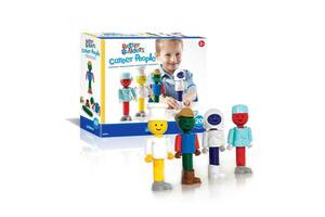 Набор фигурок к конструкторам детский из пластика Guidecraft Better Builders Профессионалы, 21 деталь