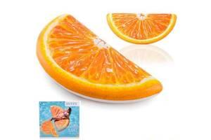 Надувной матрас долька апельсина интекс