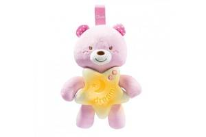 Ночник Chicco Goodnight Bear Розовый (09156.10)