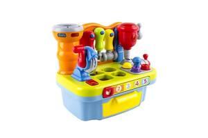 Обучающая музыкальная игрушка-сортер Hola Toys столик с инструментами