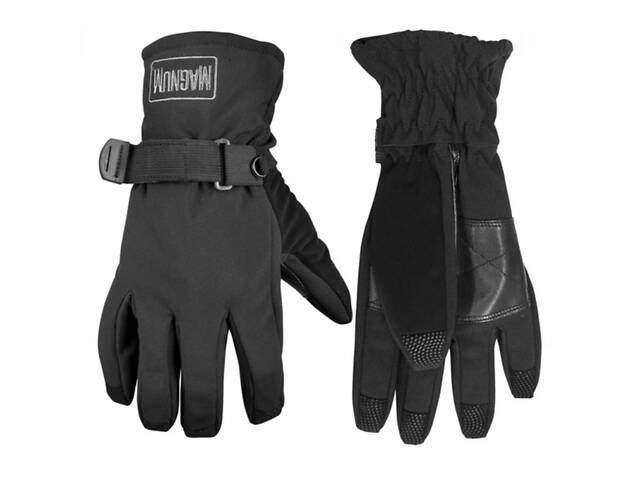купить бу Перчатки софтшелл Magnum Sumana Black L/XL Черный (M800778) в Киеве