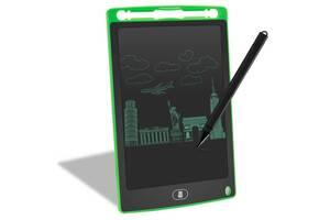 Планшет для рисования детский Writing Tablet LCD 8.5″ зелёный