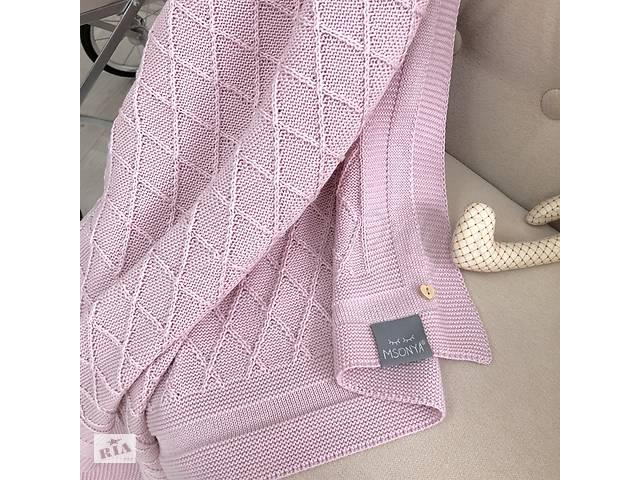 продам Плед Ромб розовый бу в Киеве