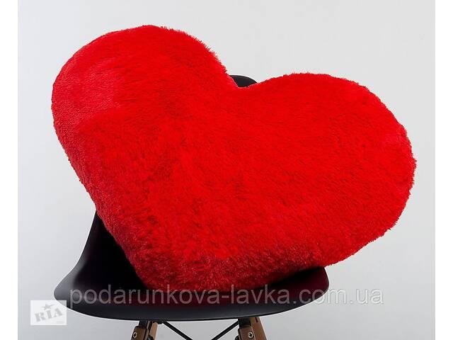 купить бу Плюшевая игрушка Mister Medved Подушка-сердце Красная 75 см в Киеве