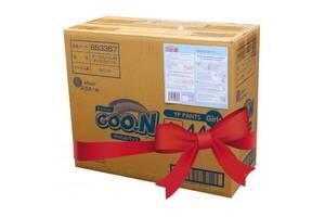 Подгузник GOO.N Трусики для девочек 9-14 кг, L, 132 шт (853081-3)