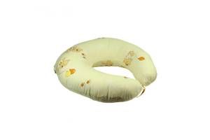 Подушка для кормления Руно силиконовое волокно + наволочка Бежевый 65х65 см (909_Бежевий)