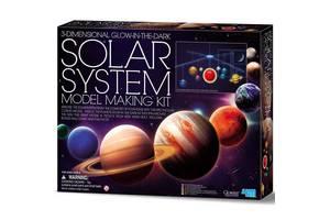 Подвесная 3D-модель Солнечной системы своими руками 4M (00-05520)