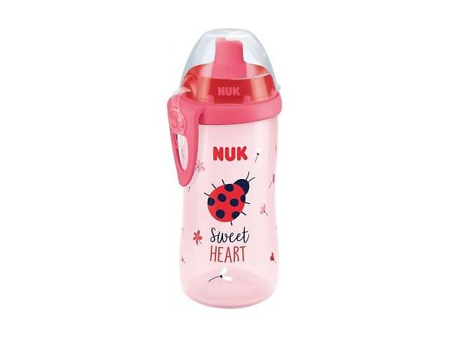 купить бу Поильник-непроливайка NUK First Choice Flexi Cup,300 мл розовый (4008600264149) в Харькове
