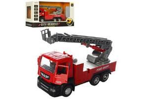 Пожарная машина с лестницей MINIAUTO (5002)