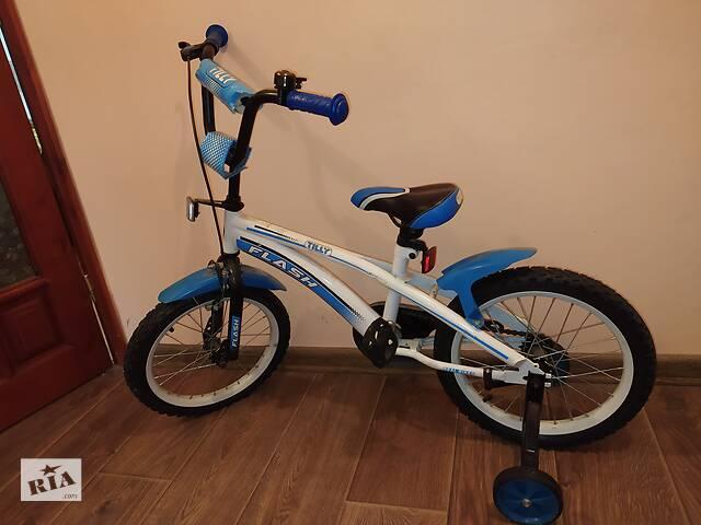 Продам детский велосипед TILLY FLASH 16  дюймов (б/у), 1500 грн.