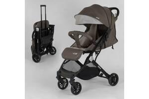 Прогулочная детская коляска JOY Fabiana 41292 Коричневый Лен