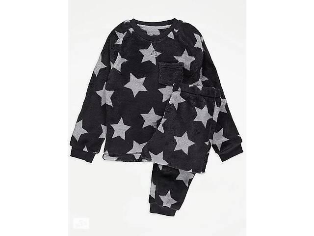 Пижама флисовая для мальчика от 3 до 11 лет звезды 201103 - объявление о продаже  в Киеве