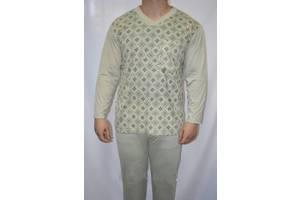 Пижама мужская беж размер L (46-48)  100% коттон