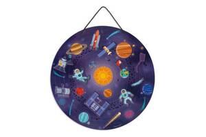 Развивающая игрушка Janod Магнитная карта Солнечная система (J05462)