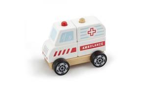 Развивающая игрушка Viga Toys Скорая помощь (50204)