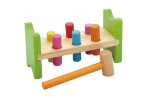 Развивающая игрушка Viga Toys Забей гвоздик (50827VG)
