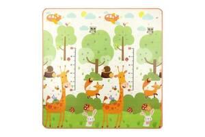 Развивающий детский коврик двухсторонний 4FIZJO Kids 180 x 180 x 1 см SKL41-277897