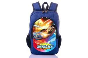 Рюкзак принт Бейблейд Beyblade Хазбро волчок принт школьный рюкзак купить в школу