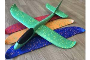 Самолёт метательный в наличие 5 цветов, 48х48см Без света