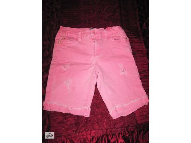 купить бу Шорты розовые джинсовые с потертостями  в Полтаве