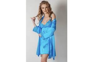 Спальний комплект халат та сорочка, пижама с халатом