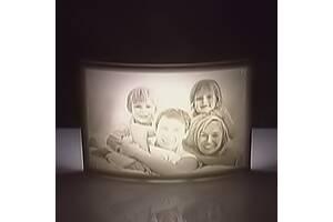Светильник из ваших фото или картинок