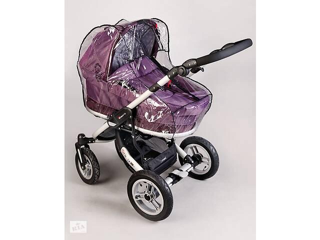 купить бу Силиконовый дождевик на коляску универсальный с молнией Baby Breeze 0310 в Львове