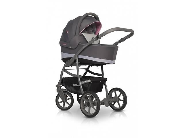 продам Универсальная детская коляска 2 в 1 Colibro Focus, розовая (10050) бу в Киеве