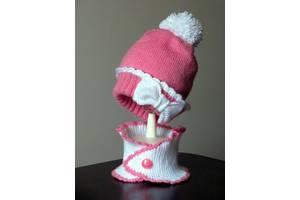 В'язана шапочка. Комплект для маленької принцеси