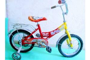Велосипед детский с дополнительными колесами