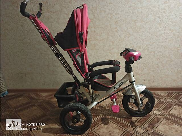 купить бу Велосипед для дівчинки з батьківською ручкою в Черновцах