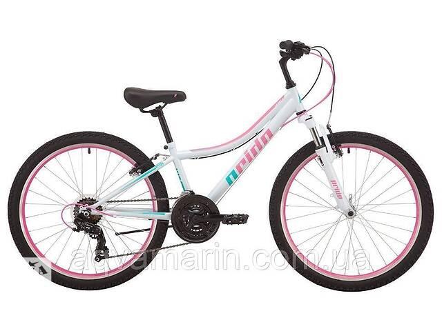 """продам Велосипед Pride Lanny 4.2 24"""" 2019, Белый бу в Дубно"""