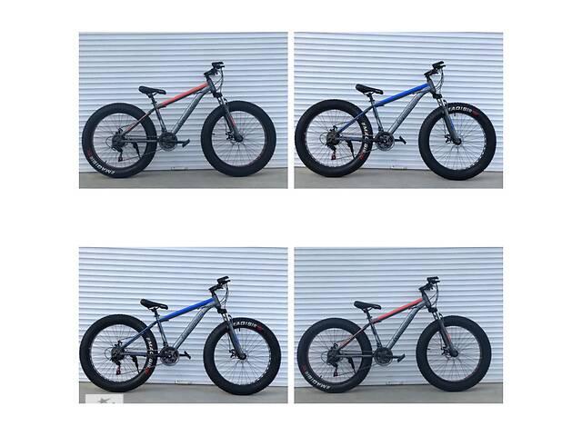 продам Велосипед TopRider 630 26 дюймов, колеса 4.0. Фэтбайк Fatbike бу в Одессе