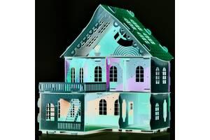Великий дерев'яний ляльковий будиночок Веселя Оселя DaisySign Sakura