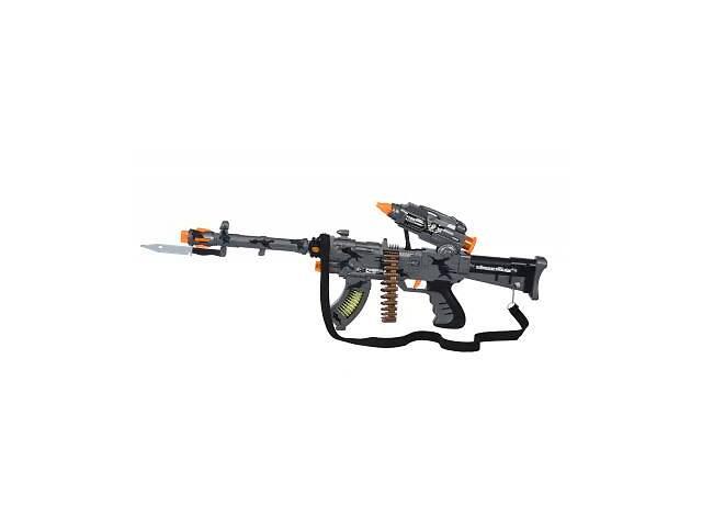 купить бу Игрушечное оружие Same Toy Сyber Mission Пулемет серый (DF-11218BUt) в Киеве