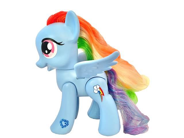купить бу Игрушка-фигурка Hasbro Рейнбоу Деш, Мой маленький Пони, 15 см - Rainbow Dash,My Little Pony  Explore Equestria в Киеве