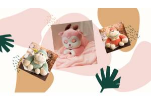 Іграшка - плед три в одному Happy Toys мікрофібра (30672) monkey