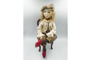 Интерьерная подвижная кукла Маленький паж Луи