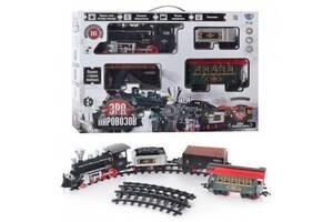 Железная дорога 420 см ЕРА TRAIN C поездом, световыми и звуковыми эффектами, дым (701830R/YY126ALB)