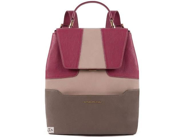 продам Женский кожаный рюкзак Piquadro Hosaka бордовый на 9л бу в Киеве